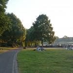 Een zomeravond aan de Aasee Münster